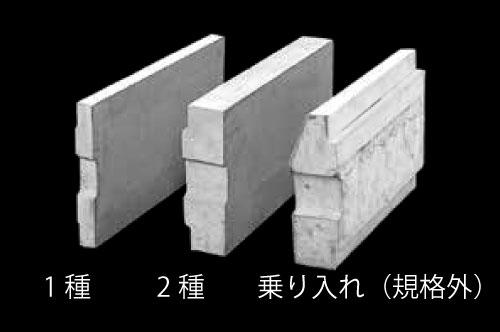 上ぶた式U形側溝(ふた)